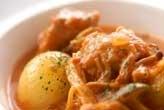 鶏と野菜のトマト煮こみ