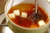 大葉入り焼きナスのみそ汁の作り方5