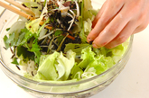 芽ヒジキのサラダの作り方2