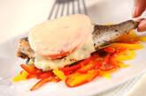 イサキのトマトチーズ焼きの作り方6