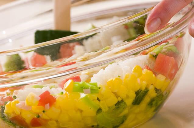ライスサラダの作り方の手順3