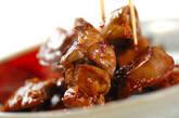鶏レバーの甘辛炒め煮の作り方3