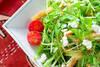 水菜のサラダ・ゴマドレの作り方の手順