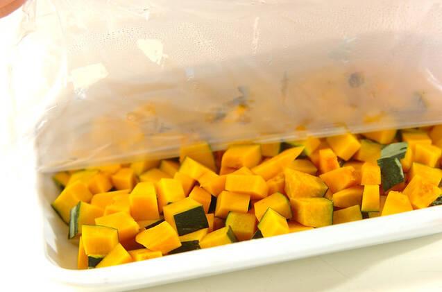 カボチャとツナのひとくち揚げの作り方の手順1