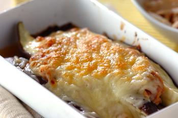 ナスのみそチーズ焼き