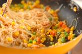 糸コンニャクの明太炒めの作り方2