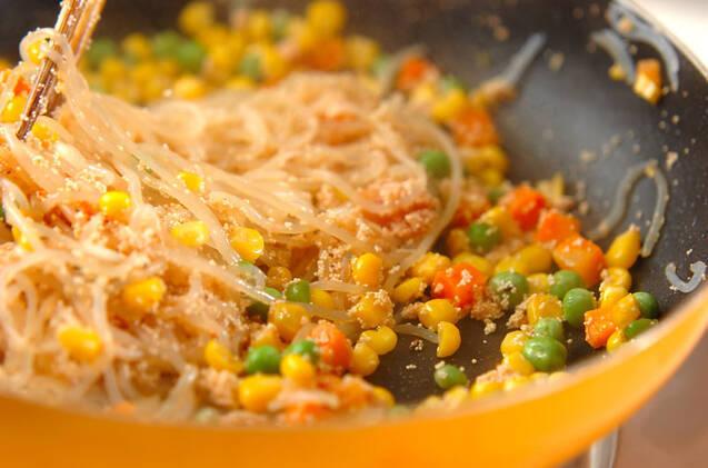 糸コンニャクの明太炒めの作り方の手順5