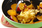 サツマイモのプルーン煮の作り方2