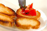 トマトとバジルのバゲットのせの作り方6