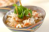 ゴボウとベーコンの混ぜご飯の作り方3