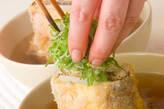 豆腐のはさみ揚げ汁の作り方4