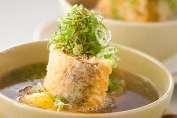 豆腐のはさみ揚げ汁