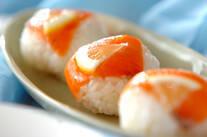 サーモンのひとくち寿司