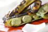 焼きソラ豆の作り方の手順