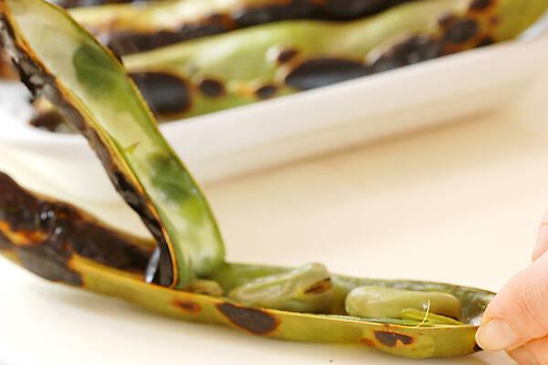 焼きソラ豆の作り方の手順3