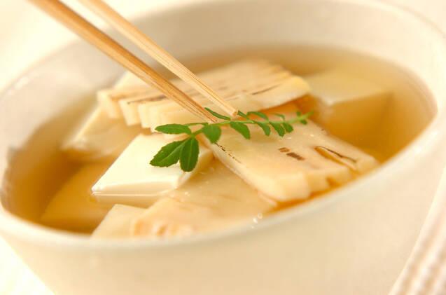 焼きタケノコのスープの作り方の手順4