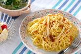 キノコのスパゲティ