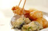 ホタテとチーズの天ぷらの作り方13