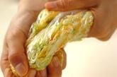 キャベツとハムのサラダの作り方2
