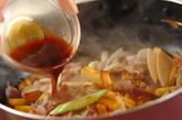サツマイモと豚肉の中華炒めの作り方3