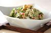セロリのツナサラダの作り方の手順