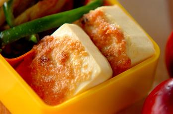 豆腐ステーキ梅マヨソース
