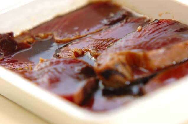 漬けカツオの手ごね寿司の作り方の手順7