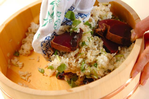 漬けカツオの手ごね寿司の作り方の手順10