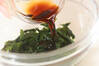 タコ梅和え丼の作り方の手順2
