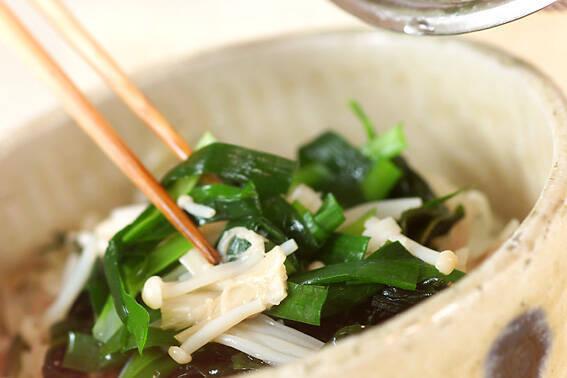 タコ梅和え丼の作り方の手順3