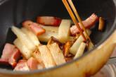 長芋のカレーマスタード炒めの作り方4