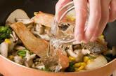 サーモンマヨチーズ焼きの作り方3