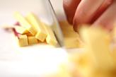 サツマイモのかき揚げの下準備1
