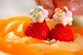 桃のデコレーションケーキの作り方7