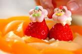 桃のデコレーションケーキの作り方12