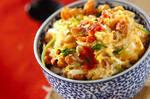焼き鳥缶の卵とじ丼