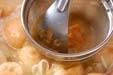 エノキと麩のみそ汁の作り方5