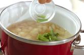 カリフラワーのコンソメスープの作り方2