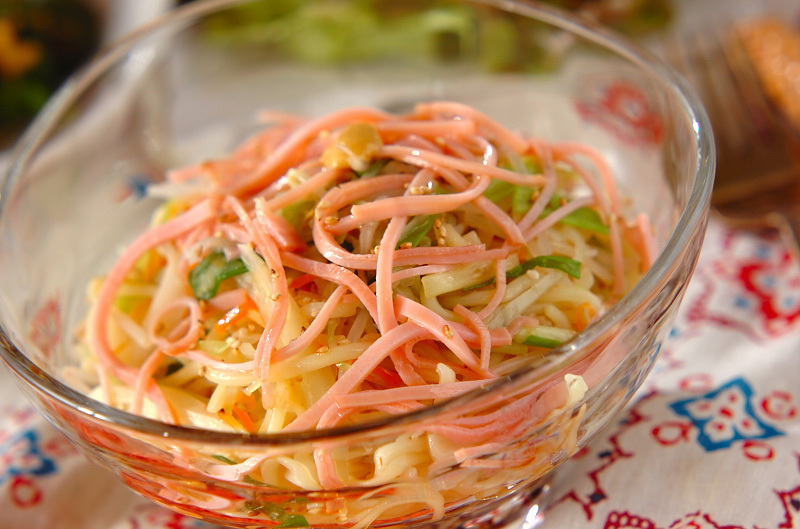 2. 野菜冷麺
