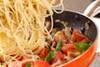 キノコのスパゲティの作り方の手順8