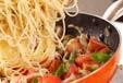 キノコのスパゲティの作り方4