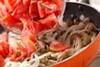 キノコのスパゲティの作り方の手順7
