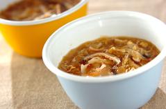 たっぷり春雨のお手軽ワンタンスープ