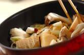 鶏手羽先とキノコのコラーゲン煮の作り方9
