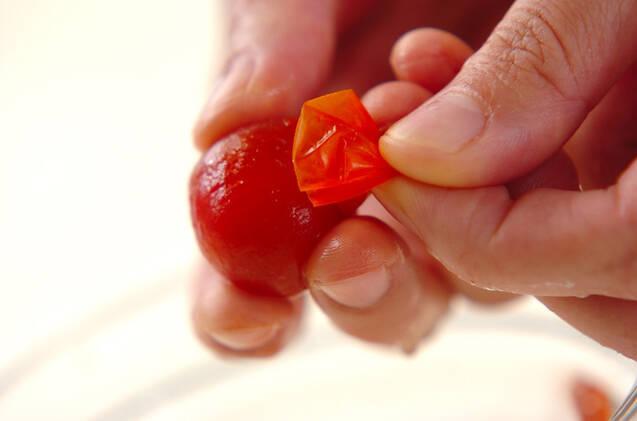 トマトのすりつぶしの作り方の手順1