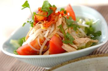 キムチのサラダ