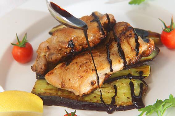 蒸焼鶏バルサミコ味の作り方の手順5