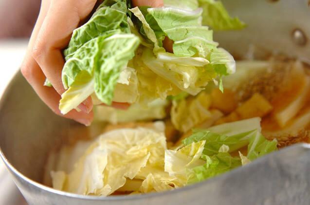 ゼンマイと揚げの煮物の作り方の手順5