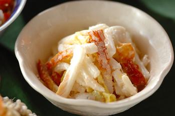 白菜のタラコマヨ和え