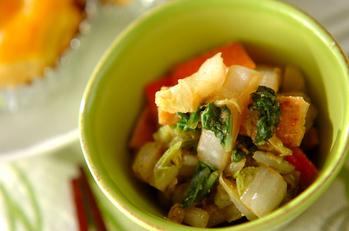 白菜のサッパリゴマ酢和え